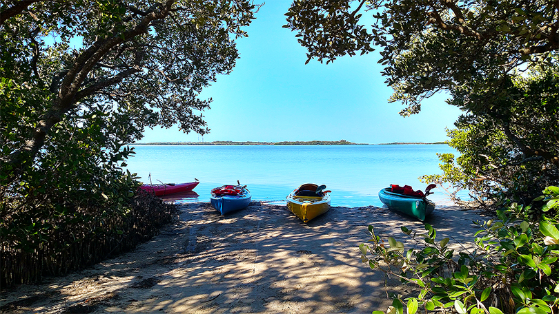 Island Kayak Tours kayak rentals launch site