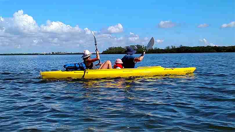 Island Kayak Tours kayak rentals tandem